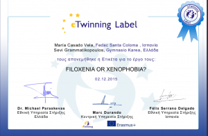 e-Twinning cooperation label